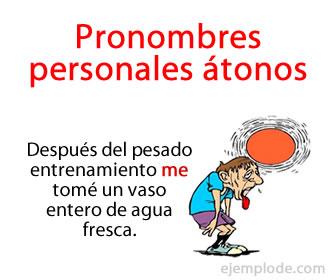 Son un tipo de pronombres que se caracterizan por remitir o hacer referencia a alguna de las tres personas gramaticales: primera persona del singular o del plural, segunda persona del singular o del plural y tercera persona del singular o del plural.