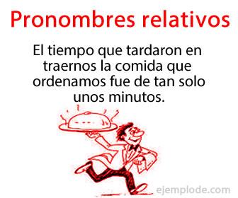 Los pronombres relativos son pronombres que introducen una oración subordinada relacionada con un antecedente en la oración.