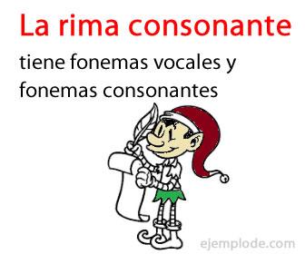 Se repiten versos consonantes y vocales