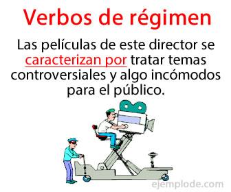 Los verbos de régimen exigen una preposición específica.