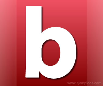 Ejemplo de palabras con b y v for La b b