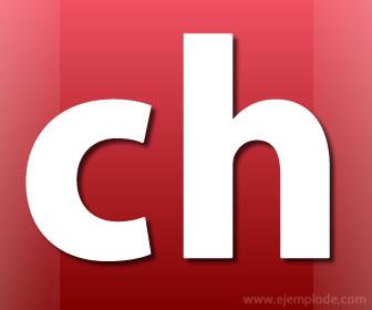 Letra ch