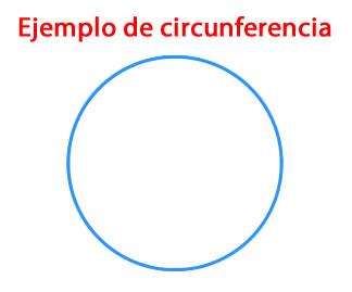 Ejemplo de Circunferencia