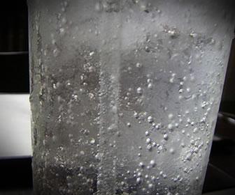Ácido carbónico en refresco o soda.