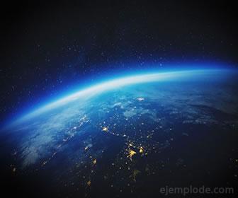 El aire es la mezcla de gases que forma la atmósfera