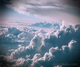 Las nubes determinan humedad en el aire