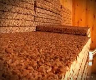 El corcho es un aislante térmico natural usado en la construcción