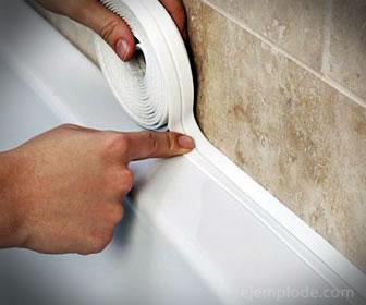 Los aislantes de goma sirven para aislar ventanas, puertas y juntas de agua