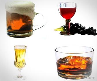Alcohol, presente en bebidas