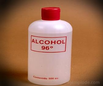 Alcohol medicinal. Antiseptico y desinfectante