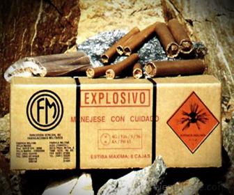 Ejemplo de Materiales Explosivos