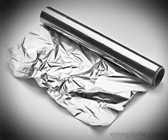 Papel Aluminio como aislante térmico