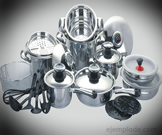 Utensilios de cocina de aluminio