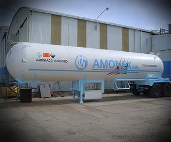Amoniaco para fábrica de hielo