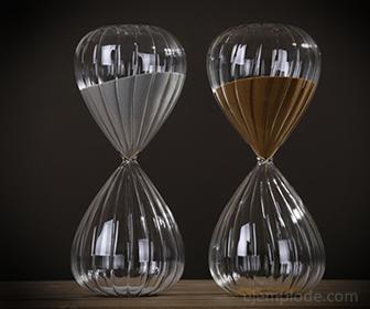 Arena para decoración en articulos de vidrio