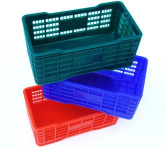 Cajas de polietileno
