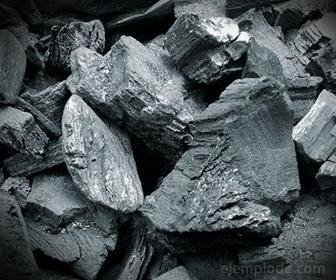 Muestra de Carbón Vegetal