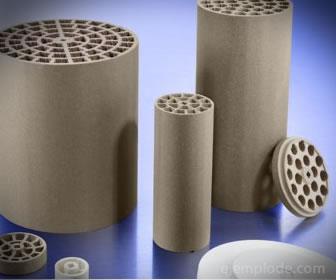 La cerámica de silicato permite aislar componentes en alta temperatura