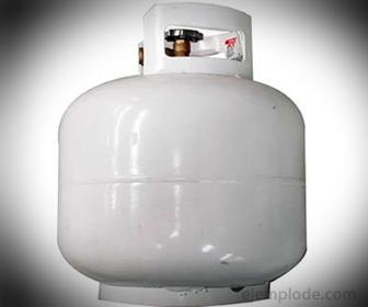 Tanques de gas son cilíndricos para que haya una presión uniforme del gas