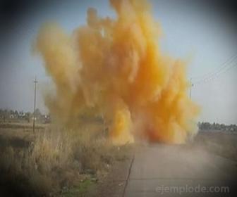 Explosión de Bomba con Cloro