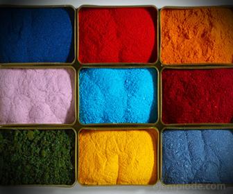 Anilina, colorante textil
