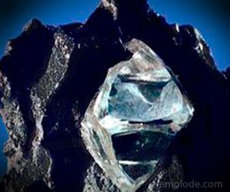 Cristal de cuasidiamante