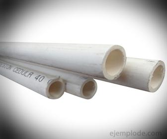 PVC en tuberias