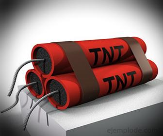 TriNitroTolueno o TNT