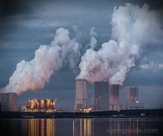 El Dioxido de Carbono también proviene de la industria