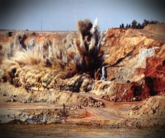 Explosivos empleados en Mineria para una Voladura