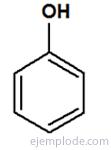 Estructura principal de Fenol