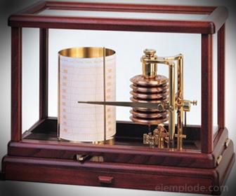Barógrafo Aneroide, medidor de Presión Atmosférica