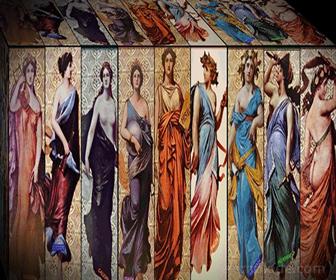 Las Musas, hijas de Zeus