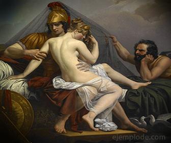 Triangulo Amoroso, muy frecuente en la Mitologia Griega