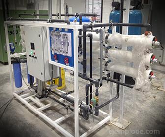 Ósmosis inversa en Desalinización de Agua de Mar