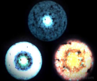 Neutrinos vistos con potente microscopio