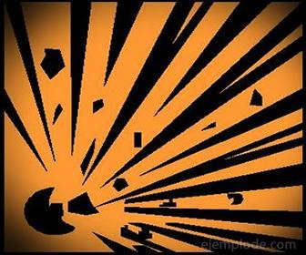 Pictograma para Materiales Explosivos