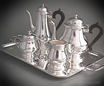 Plata como metal ornamental