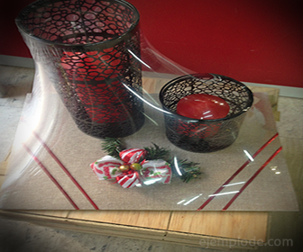 PVC para envolver regalos
