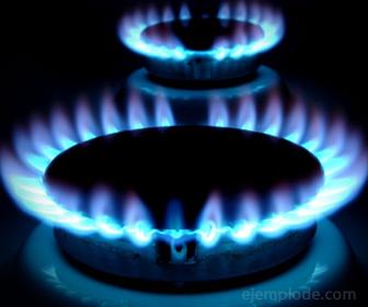 El Propano funciona como combustible