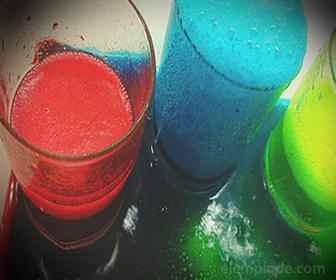 Espumas de colores