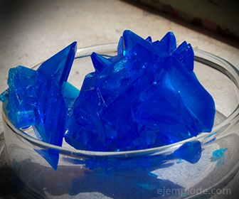 Sal Mineral: Sulfato de Cobre