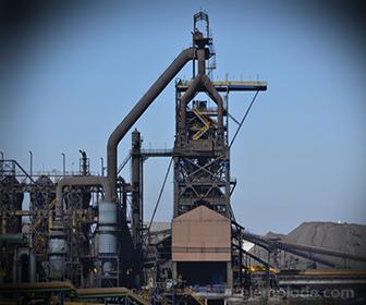 Alto Horno para fundir mineral de Hierro