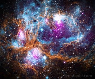 El Universo es un ejemplo de la Entropia manifestandose en cada momento