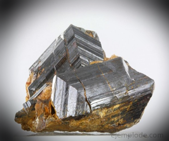 Rutilo, mineral de Dióxido de Titanio
