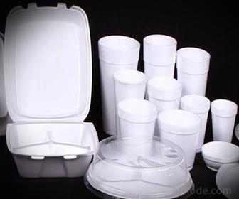 Unicel para empacar alimentos
