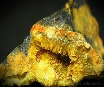 Mineral Pechblenda