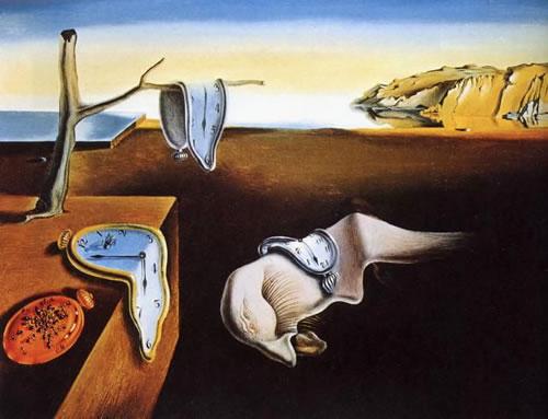 Surrealismo de Salvador Dalí, Los relojes blandos.