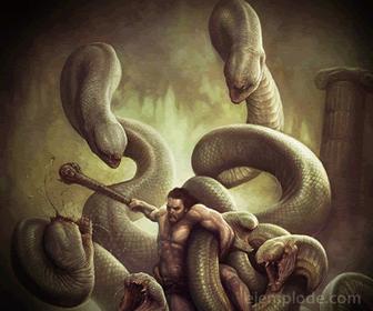 Ejemplo de Trabajo de Hércules: Hidra de Lerna