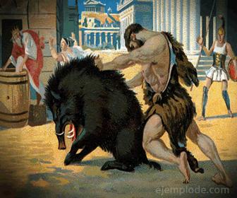 Ejemplo de Trabajo de Hércules: Jabalí de Erimanto